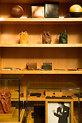 DETROIT, MI - OCTOBER, 30: Leather goods on display at the Shinola store in Detroit, Michigan, Thursday, October 30, 2014. (Photo by Jeffrey Sauger)