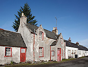 House on Mitchell Place, Wanlockhead, Southern Uplands, Scotland