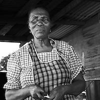 Miss Julie former teacher for 22 years now runs a small restaurant on the mainstreet of Dangriga