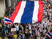 Anti-Government Protests Gridlock Bangkok