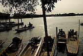 Thailand. Fishing at Samuthprakarn