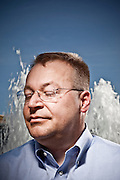 Stephen Elop, CEO of Nokia, Former President of Microsoft Business Division.  Photographed for Businessweek Magazine at Microsoft offices in Redmond, WA.  2009-06