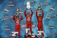 Scott Dixon, Dario Franchitti, Graham Rahal, Sun Trust Indy Challenge, Richmond International Raceway, 7/12/2009