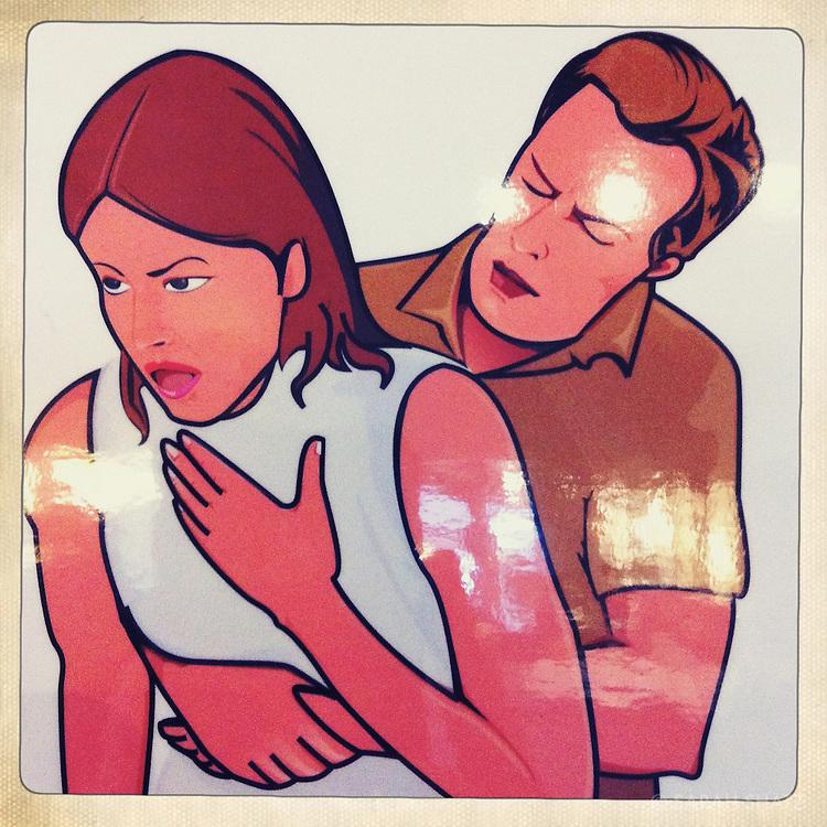 Choking poster