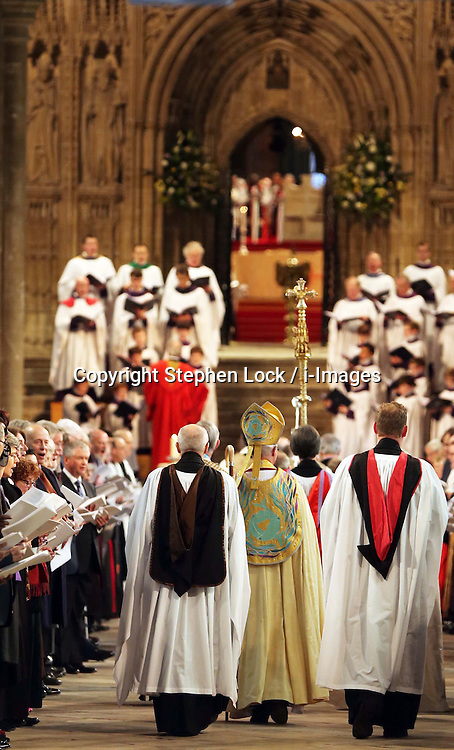 Tthe  enthronement of Justin Welby as the Archbishop of Canterbury, at Canterbury Cathedral in Kent,  Thursday, 21st March 2013.  Photo by: Stephen Lock / i-Images