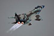 Israeli Air force F-15I Fighter jet in flight.