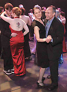 "Sara and David Shuster, from Oakwood (couple on the right) were some of the guests that danced in the Festival Playhouse after the ""Broadway Revue"" performed at the 2007 Arts Gala at Wright State University, Saturday evening.."