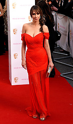 Alex Jones attends The House of Fraser British Academy Television Awards at The Theatre Royal, Dury Lane, London on Sunday 10 May 2015