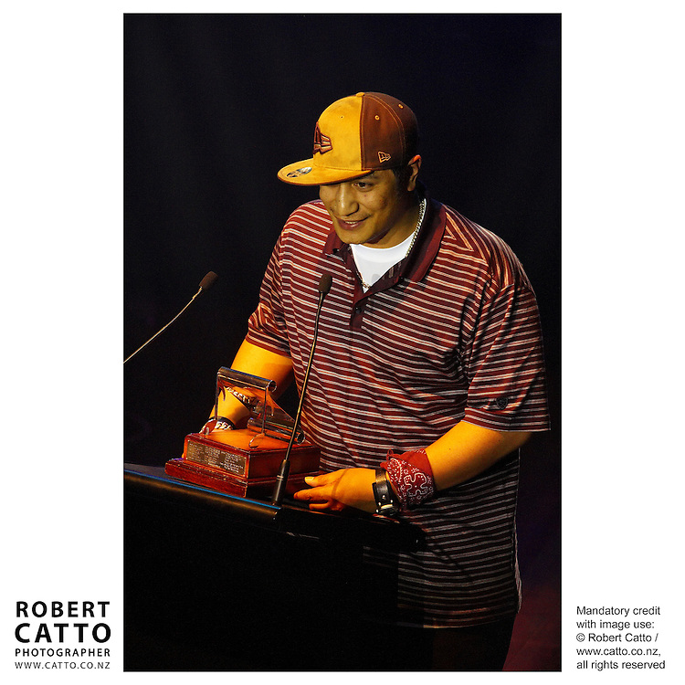 Scribe at the APRA Silver Scroll Awards 2004 at the Wellington Town Hall, Wellington, New Zealand.<br />