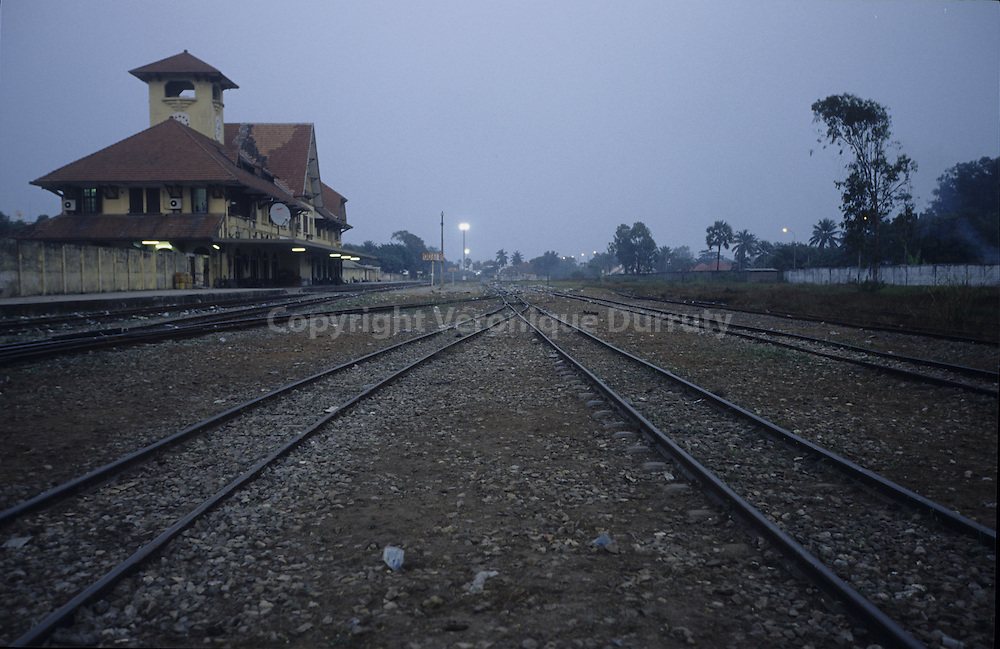 RAILWAY STATION, POINTE NOIRE, CONGO