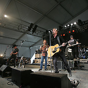 Dierks Bentley with Sam Bush performs during the second day of the 2007 Bonnaroo Music & Arts Festival on June 15, 2007 in Manchester, Tennessee. The four-day music festival features a variety of musical acts, arts and comedians..Photo by Bryan Rinnert.