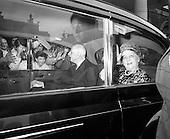 1969 - General Charles de Gaulle leaves Dublin Castle for Dublin Airport