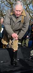 FEB 04 2014 Prince Charles visits Flood Victims
