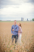 Emma & Mike's Fall Farm Engagement