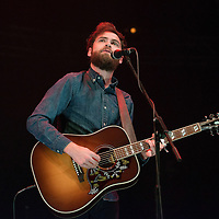 Michael Rosenberg aka Passenger performs on stage as part of the Clyde 1 Live concert at The SSE Hydro on December 6, 2014 in Glasgow, United Kingdom. (Photo by Ross Gilmore