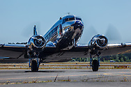 DC-3 taxiing at Warbirds Over the West.