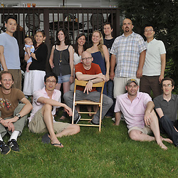 PhotoShelter family gathers at the Fingerman household for some quality BBQ and bonding.