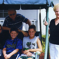 Grandpa, Grandma, Mom, and Patrylo kids