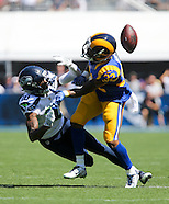 Football: Los Angeles Rams vs Seattle Seahawks
