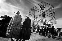 Bolivia - Ceja de El Alto -'Feria de Ramos' Annuale fiera dove centinaia di boliviani giungono da ogni parte del Paese