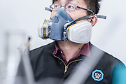 CHINA / Changzhou /  14/11/2013<br /> <br /> T&uuml;v S&uuml;d China - Quality Assurance &sbquo;Fire testing lab<br /> <br /> &not;&copy; Daniele Mattioli