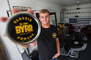 Chase Wilson, founder Byrd Hairdo Products.