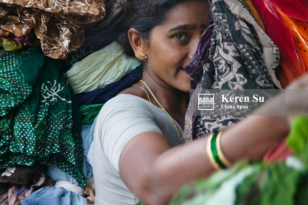 Laundry factory, Bombay, India
