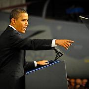 Joshua Borough- 11 November 2009. On his way to Asia President Obama stopped Thursday afternoon at Elmendorf Airforce Base in Anchorage, Alaska.