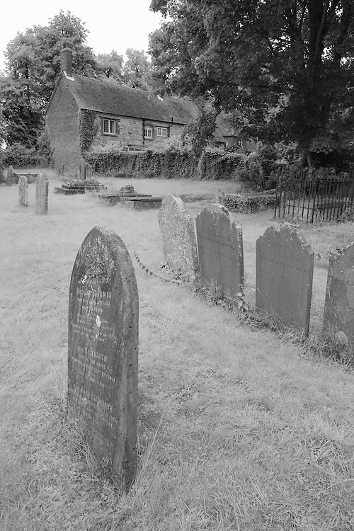Paradise Gravestones - Avebury, UK - Infrared Black & White