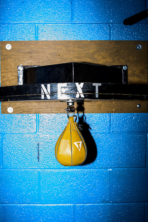 Baltimore, Maryland - January 26, 2017: at the Upton Boxing Club in Baltimore.<br /> <br /> <br /> CREDIT: Matt Roth for The New York Times<br /> Assignment ID: