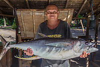 Yellowfin Tuna at Malatapay Market - Wednesdays at Malatapay Market are always abuzz with activity. It is a place where livestock growers, local farmers and fishermen converge to sell their fresh produce. It is a whole day fair for the townspeople, shoppers and visitors. Locals from neighboring towns also take part in the market day.  Malatapay provides an experience of the traditional Filipino barter system because the locals trade goods within themselves and with vendors who hail from the nearby Apo Island and those who live in the next towns. On other days, Malatapay is an oddly quiet place with not even a hint of activity going on. The market's exclusive mid week only schedule always makes it something to look forward to for everybody.