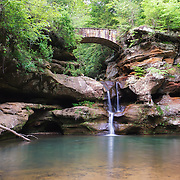 &quot;Old Man's Cave Upper Falls&quot;<br /> <br /> Hocking Hills Ohio waterfall.