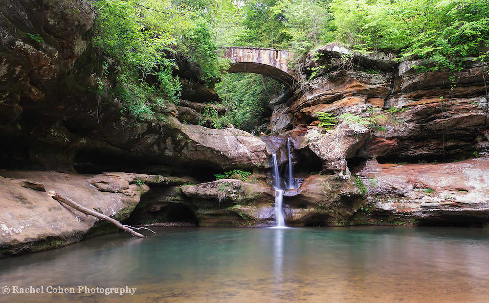 &quot;Old Man's Cave Upper Falls&quot;<br />