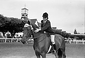 1962 - Dublin Horse Show at the RDS, Wednesday