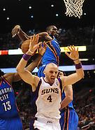 NBA: Oklahoma City Thunder vs Phoenix Suns//20110204