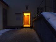 Salzburg capuchin, entrance to monastery