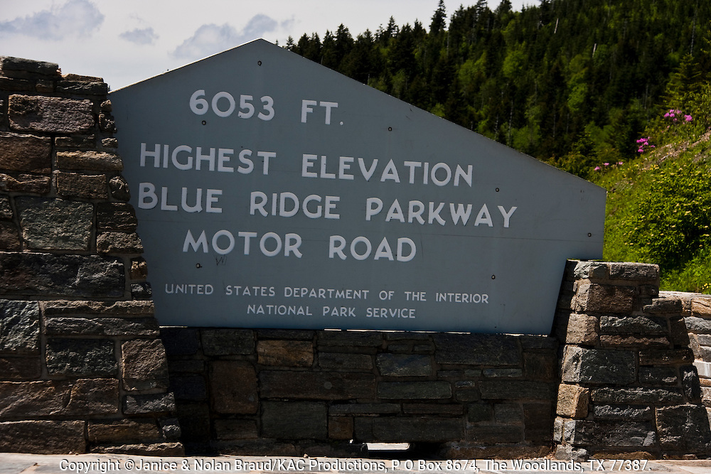 Blue Ridge Parkway scenic highway. The Blue Ridge Parkway is the only road to be designated a National Park.