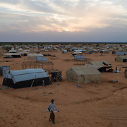The Mbera refugee camp for Malian refugees on 3 March 2013.