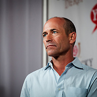 April 30, 2014: Jockey, Gary Stevens at the Kentucky Derby Post Position Draw at Churchill Downs in Louisville Ky. Alex Evers/ESW/CSM