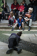 A gem within the shadow of St.Paul's Cathedral, St. Vedast Church offers as part of the Celebrate the City: Choreographer Lizzi Kew Ross and the Without Warning Company present a 15 minute sound and movement installation reflecting the passage of time and passing of us all.