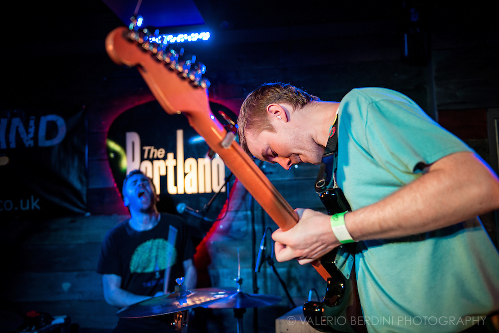 Pinegrove live at the Portland Arms in Cambridge - UK, touring their debut album Cardinal. 26 Feb 2017