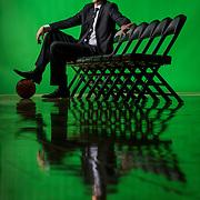 UVU Basketball Coach Mark Pope promo photos at the UCCU Center on the campus of Utah Valley University in Orem, Utah, Monday, Nov. 2, 2015. (August Miller, UVU Marketing)