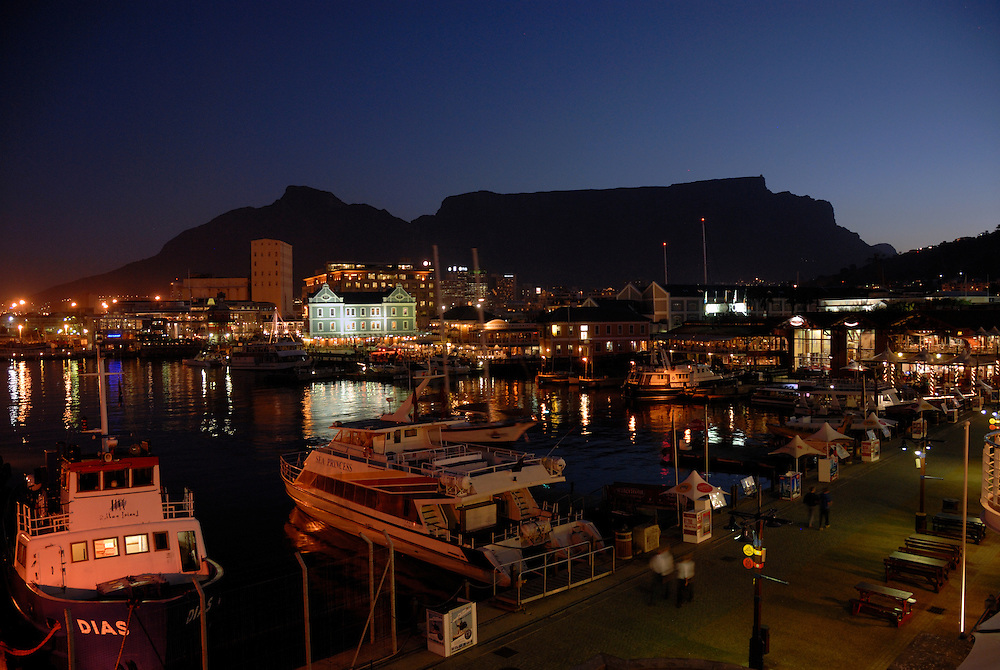 Victoria and Albert Waterfront. Cape Town, South Africa.