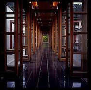 Entry corridor at Gora Kadan Ryokan, Hakone, Japan.