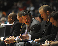 "Ole MIss assistant coach Owen Miller at the C.M. ""Tad"" Smith Coliseum in Oxford, Miss. on Wednesday, November 17, 2010."