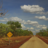 Outback road near Darwin, Northern Territory, Australia. Copyright 2014 Terence Carter / Grantourismo. All Rights Reserved.