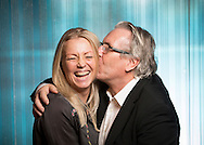OSLO, 20131031: TV2 presenterte og arrangerte pressem&oslash;te med programledere og kommentatorertil OL-sendingene hos Senkveld. Kari Traa og Davy Wathne. <br /> FOTO;  TOM HANSEN
