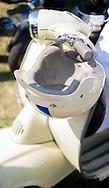 Vintage Style Motorcycle Crash Helmet.
