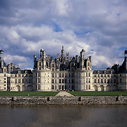 AA00386-01...FRANCE - Chateau de Chambord is the largest of the Loire Valley chateaus.