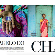 """O Flagelo do Cha"", CLAUDIA magazine, Brazil, July 2016"